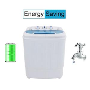13lbs إجمالي المحمولة غسل البسيطة آلة ضغط التوأم حوض الغسالة سبينر الأبيض للمنزل شقة مساكن السفينة من USAHot