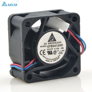 Delta EFB0412HD 40 * 40 * 20 4 cm 40 mm 12 V 0,12 A 3-Pin-Netzteilschalter 1 HE Server-Lüfter