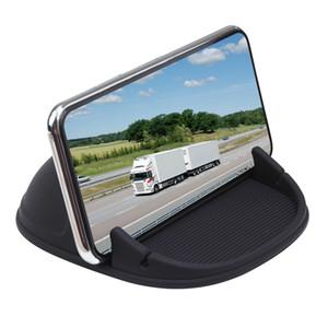 supporto del telefono, Car Holder Phone Dashboard antiscivolo, Free Hand Anti Monti slittamento, Telefono monte del silicone stuoia del rilievo,