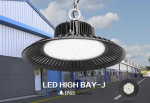 LED High Bay Light 50W 100W 150W 200W UFO 6000K 20000Lm IP65 AC85-265V LED Flood Light Alluminio Mining Highbay Lampada LLFA