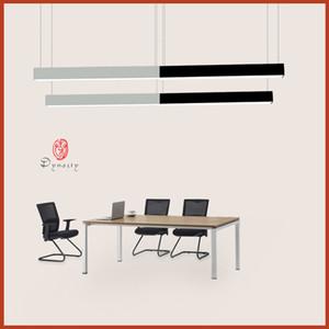 Bureau contemporain suspendu éclairage Mode Suspendu Aluminium LED lampe moderne bibliothèque Work Shop Mall Super Market studio Dynasty bateau libre