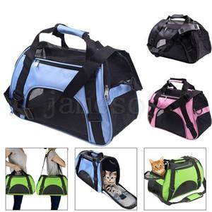 Mode Folding Pet Carrier Tasche Portable Rucksack Weiche Schlupfhundetransport Transport im Freien Hundetasche Korb Handtasche Hundebedarf DA146
