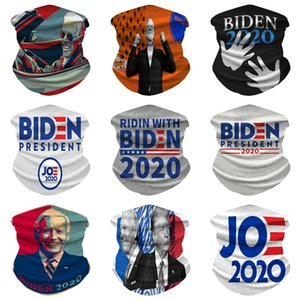 Imitar cara de satén de seda real seda Biden máscara Mujer Fondo de seda largo gradual cambio de color Biden Máscara de alta protección solar Archivos mantón Sca # 954