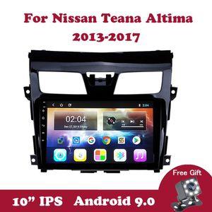 "Android 9.0 Multimedia Player Para Teana Altima 2013 2014-2020 Navegação GPS Car Radio Double Din 10,1"" IPS Touchscreen carro dvd"