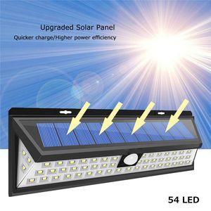 lamp118 parete solare telecomando impermeabile oscuramento lampada solare esterna lampada solare LED DHL all'ingrosso LED