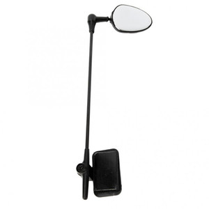 ABS العالمي قابل للتعديل الدراجة ركوب الدراجات ركوب الخيل مرآة الرؤية الخلفية للرؤية الخلفية خوذة نظارات جبل Rosd دراجة مرايا