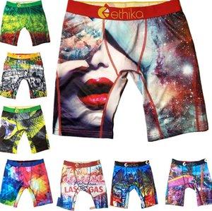 Unisex intimo tecnico Graffiti Hip hop delle donne degli uomini Breve fitness Dry Cotton Boxer Sport Corto Boxer mutande A120301