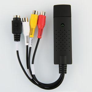 USB-Audio-Video-Capture-Karte Einkanal USB-Sicherungs-Karte Av Signalerfassung Datenerfassungskarte Video-Adapter neu
