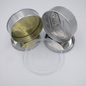 Latas inteligente estanho etiqueta Adequado para 3.5gram Presstin Self-Seal lata de atum Tin erva seca Container Adesivos lables diurna noturna a qualquer hora