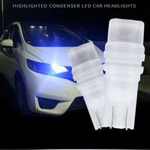 50 adet Oto Styling Araba Led T10 Seramik 3D LED W5w194 168 Kama Yan Plaka Işık Lambası Okuma Işık Araba İç Işık