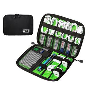 새로운 디자인 큰 충격 방지의 USB 케이블 이어폰 보관 가방 플래시 드라이브 주최자 디지털 가젯 홀더 여행 모바일 충전기 케이스