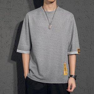 2020 designer summer men's linen short-sleeved T-shirt loose half sleeve summer fashion men