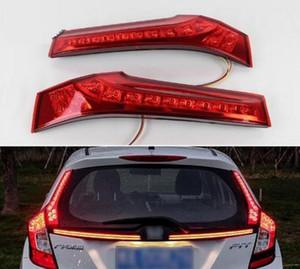 2 PCS Para Honda Jazz Fit 2014 2015 2016 2017 Carro LED Luz Traseira Luz Traseira Luz de Freio Luz de Freio Auto Lâmpada Decoração Lâmpada
