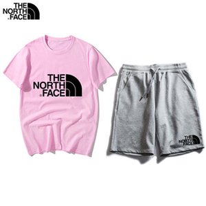 2019 Mens New Brand Designer Sets T-shirt And Pant Men Cotton Short Tracksuit Women Summer Suit Short Sport Suit 2Pcs Set s-2XL