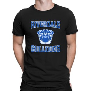 Riverdale Riverdale Bulldogs T-Shirt Summer Style Clever Top Quality Crew Neck Men's Tshirt Designs Basic Anlarach Solid Color