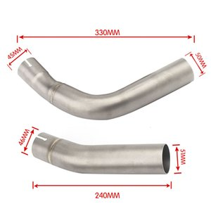 Slip On For R1 YZF-R1 2009 2010 2011 2012 2013 2014 Motorcycle Exhaust Muffler Escape Modified Connector Middle Link Pipe