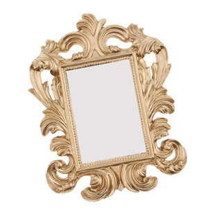 Charming Glitters Gold Baroque Photo Frame Place Card Holder Picture Frame Wall Wedding Home Wedding Birthday Decor