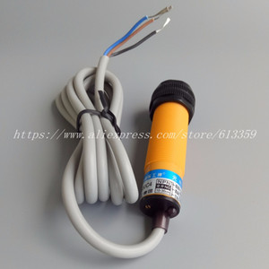 5pcs E3F-DS30C4 OMKQN M18 Photoelectric Switch Sensor 10-30VDC 3-Wire NPN NO 30cm Adjustable Diffuse Reflection