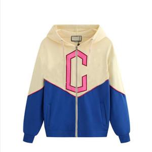 Mode für Männer Pullover Hoodies der neuen Marken-Pullover für Männer Sweatshirt beiläufigen Kontrast-Farben-Frauen-Kleidung mit Buchstaben M-2XL Freien Verschiffen
