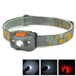 Mini portátil Farol 600LM Farol Cree R3 faróis 2 lanterna LED faróis Torch Lanterna Com Headband Caminhadas Camping ZZA693