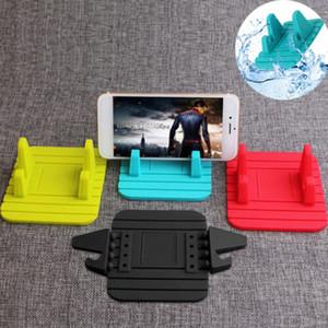 Morbido silicone mobile aziendale Telefono supporto di GPS del cruscotto zoccolo Anti Slip Mat stand