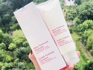 Paris Gentle Foaming Cleanser with Cottonseed Normal or Combination Skin Facial Cleansing Foam Doux Nettoyant Moussant 125ML 4.4Oz