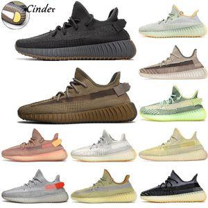 2020 Kanye cenere scarpe da ginnastica riflettente deserto luce salvia coda Marsh Yecheil statici Mens donne stylist Formatori Sneakers