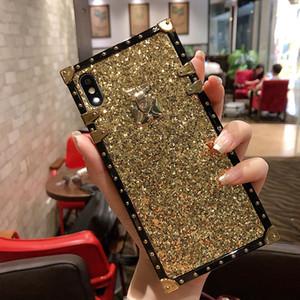 Casse del telefono dal design di lusso per iphone 11Pro XS MAX Paris Fashion Visualizza copertura posteriore morbida per la galassia S8 9 10 note10