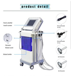 Hot selling!!! Hydra Facial Machine RF skin rejuvenaiton Microdermabrasion Hydro Dermabrasion Bio-lifting wrinkle removal Spa Machin