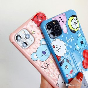 High quality Luxury design Cartoon BT21 Case For iPhone 11 Pro XS MAX 7 X XR 6 8Plus Koala Rabbit Animal Soft Back Cover Silicone Fundas