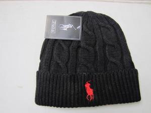Cappelli invernali invernali unisex per uomo donna Beanie lavorato a maglia cappello di lana Uomo maglia Bonnet Polo Beanie Gorros touca addensare cappuccio caldo