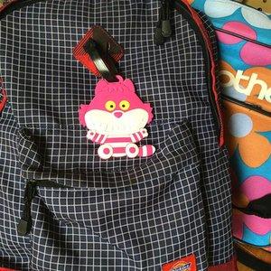 Designer-Cartoon Animal Flamingo Etichetta bagaglio carta Hard Tag ID Holder Indirizzo bagaglio d'imbarco Tag Label Accessori Viaggio