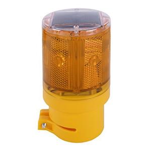 Sinal âmbar Solar Emergência LED Strobe Aviso luz intermitente barricada Semáforos Segurança Rodoviária Construção Flicker Beacon