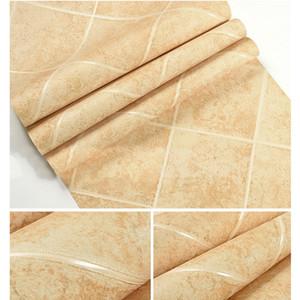 Imitação telha wallpaper diamante Fundo chinês 3d parede do banheiro antigo restaurante tijolo rolo hotel de decoração cozinha papel de parede