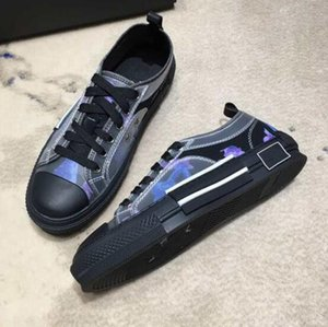 Classics B23 simple m classique comme la vision principale, de la manière de l'impression de grande surface sur les chaussures Lovers supérieures Taille 35