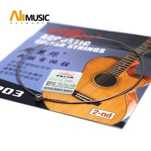 10 PCS Алиса гитарной струны A203SL второй 2B Струнные 0,015 Второй струнный для акустической гитары народной партии гитары