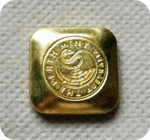10Z, 1 / 20Z-9999 FINE Australie Perth Mint Bullion Bar copie pièces pièces pièces commémoratives de collection-réplique Monnaies médailles