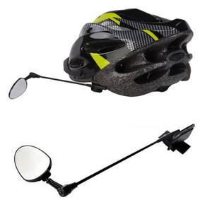 Nuovo casco da bicicletta specchio retrovisore Bike retrovisore Specchi Accessori in bicicletta per il trasporto libero della bicicletta del motociclo DHL