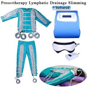 فقدان الوزن صالون تجميل 2 in1 الأشعة تحت الحمراء بعيدة الليمفاوية الصرف العلاج بالضغط آلة التخسيس الليمفاوية الصرف ضغط نظام العلاج السموم