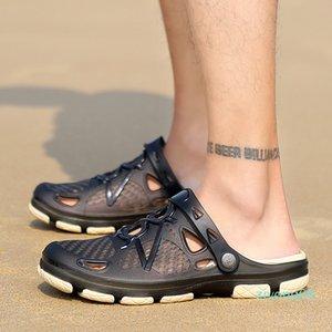 2020 New Summer Jelly Shoes Men Beach Sandals Slippers Men Flip Flops Light Sandalias Outdoor Summer Chanclas Cheap Male Sandals zz6