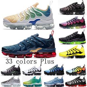 Новые пары TN Plus 2019 Мужского Flir Cusion кроссовок Белых Черный Desingers Run Подсобные женщины спортивной дышащие тренерами кроссовки US5.5-11