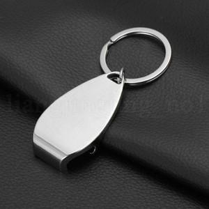 Creative bouteille-cadeau Ouvre Keychain en alliage de bière en métal Porte-clés porte-clés Beer Bar Metal KKA7541