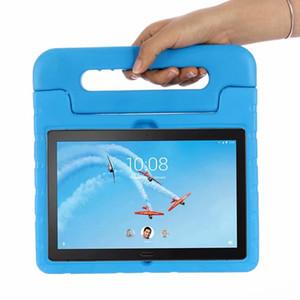 "Kids Case ablet Accesorios Tablets e-Books Caso a prueba de golpes para Lenovo P10 TB-Tab X705L TB-X705F 10,1 \"" Cubierta EVA Funda Tablet Stan ..."