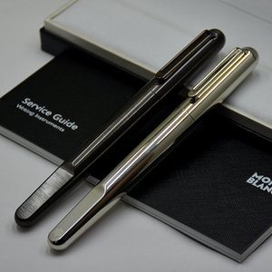 Black Silver Full Metal MB Luxury Limited Roller ball pen With Magnetic Cap Business Office Writing Stationery Brand GIft pen gel