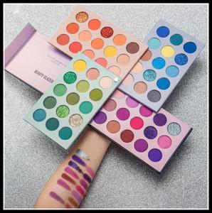 EPACK красоты Глазированные Eyeshadow 4 в 1 Красота Застеклено Цвет Совет 60 Цвет Этап Pearl Eyeshadow Palette Tray