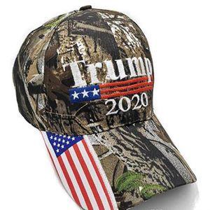 Kamuflaj Trump Beyzbol Şapka 2020 Bütünleme Amerika Büyük Başkan Seçim Pamuk Nakış Spor Outdoor Güneş Cap Parti Şapkası IIA74 Caps