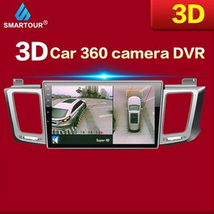 Smartour FOR 3D HD Net View Monitoring System Driving Bird View Car Cameras 4-CH Dvr Record car dvr