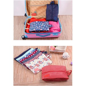 2019 Multifunction Waterproof Travel Storage Bag Nylon 8 Colors Portable Organizer Bags Shoe Sorting Pouch Hot Sale