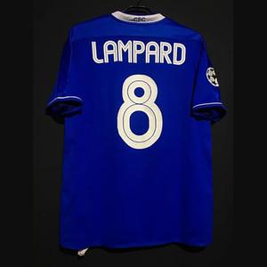 Retro Lampard Drogba Crespo Terry Veron Cole Robben Kezman Futbol Formaları Vintage Gömlek Klasik Futbol Kiti