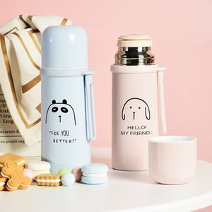350 500ml Vacuum Flask Thermo Water Bottle Car Mug Thermocup Portable Travel Coffee Mug Stainless Steel Thermos Tumbler Cup